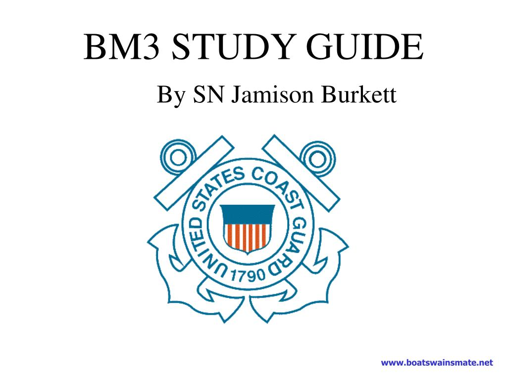 bm3 study guide by sn jamison burkett l.