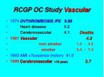rcgp oc study vascular