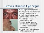 graves disease eye signs