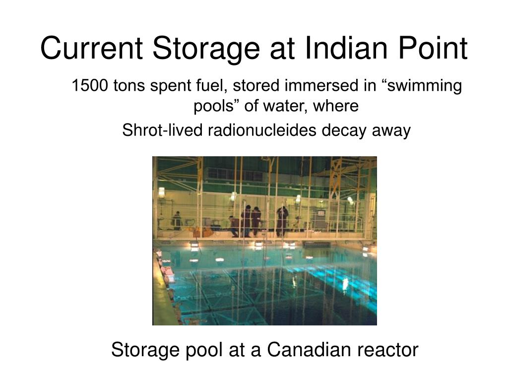 Current Storage at Indian Point