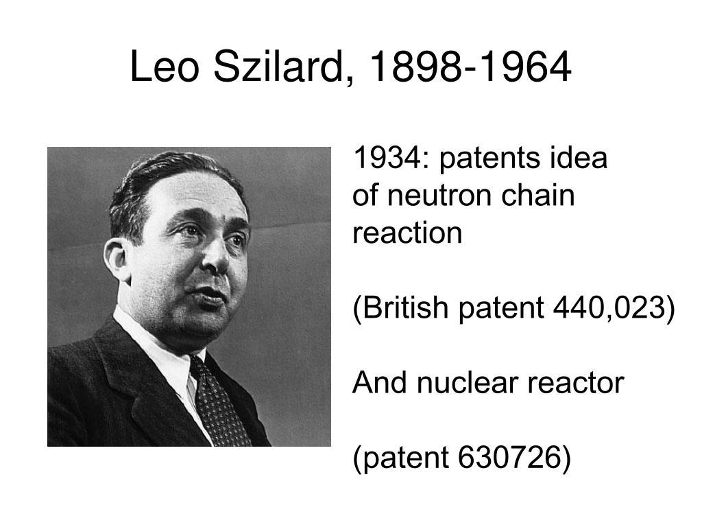 Leo Szilard, 1898-1964