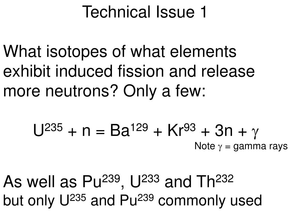 Technical Issue 1