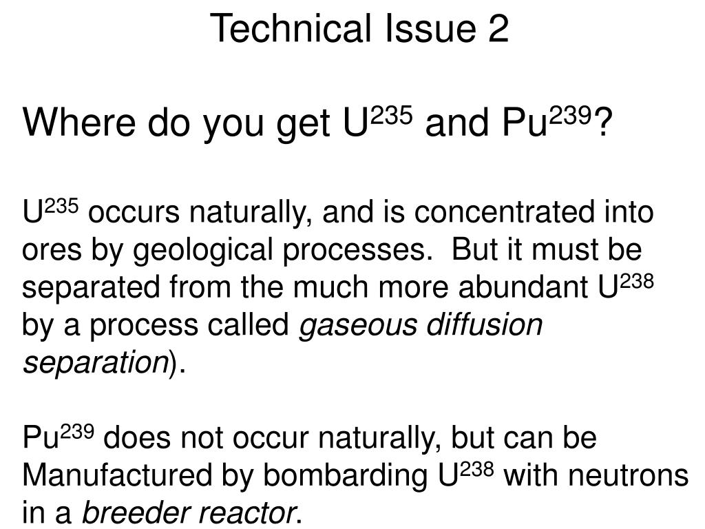 Technical Issue 2