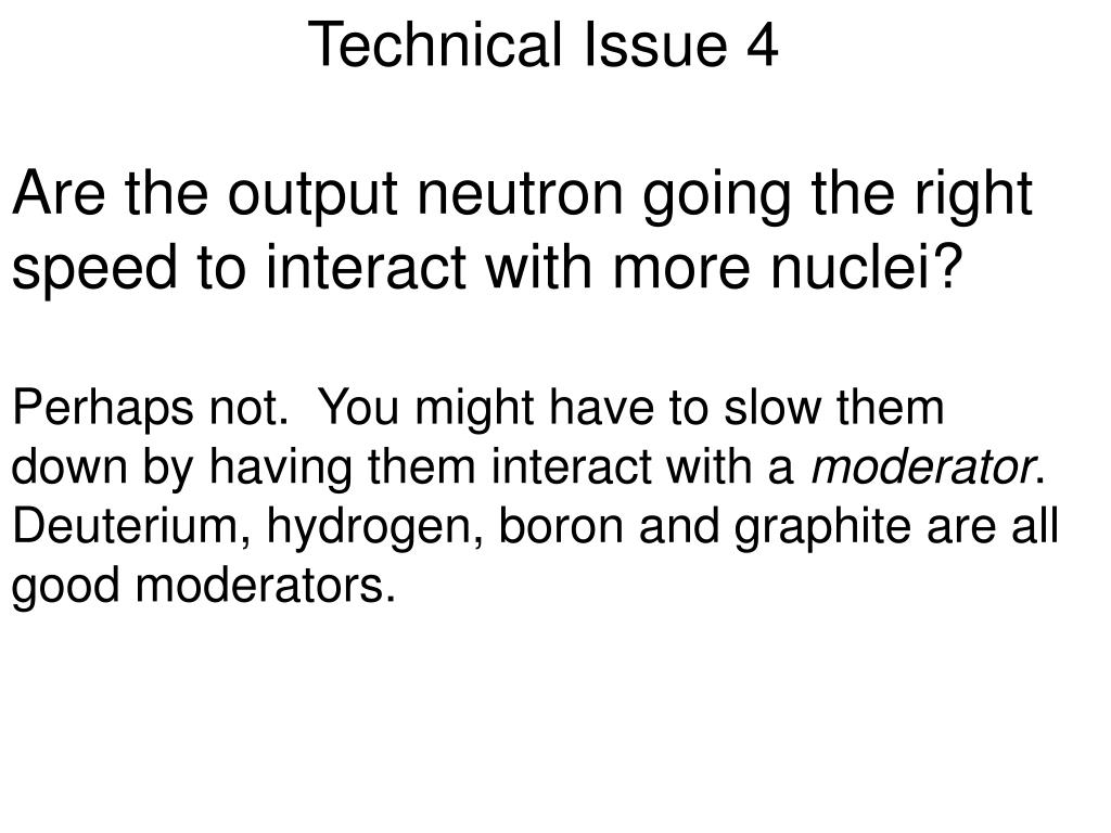 Technical Issue 4