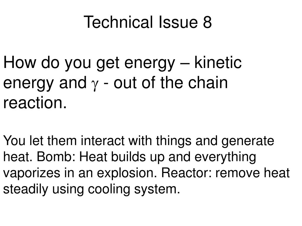 Technical Issue 8