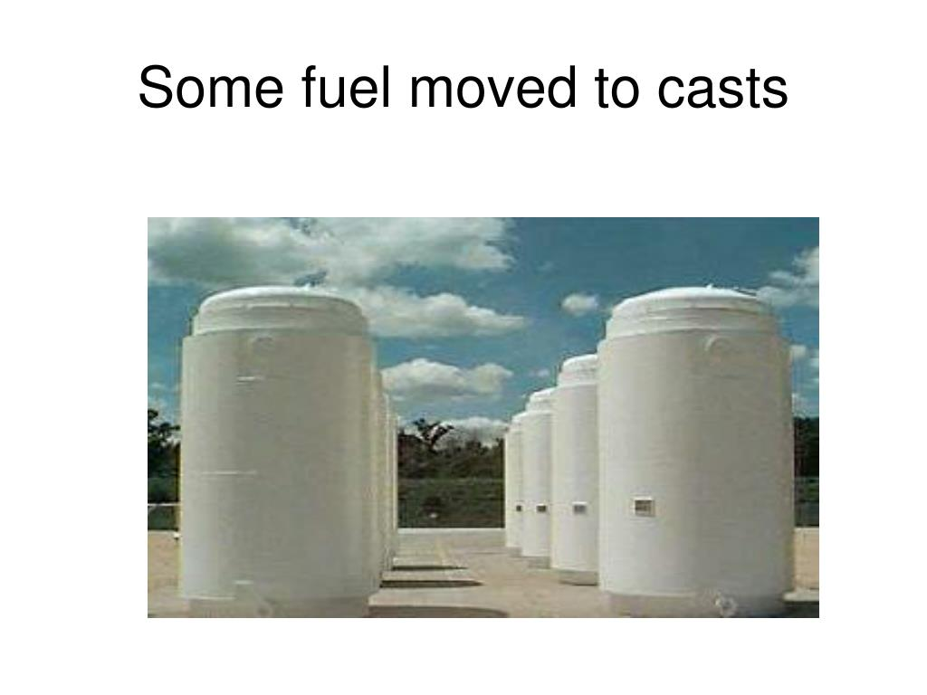 Some fuel moved to casts