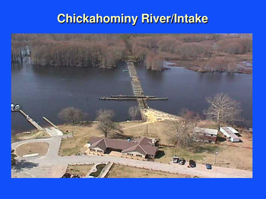 Chickahominy River/Intake