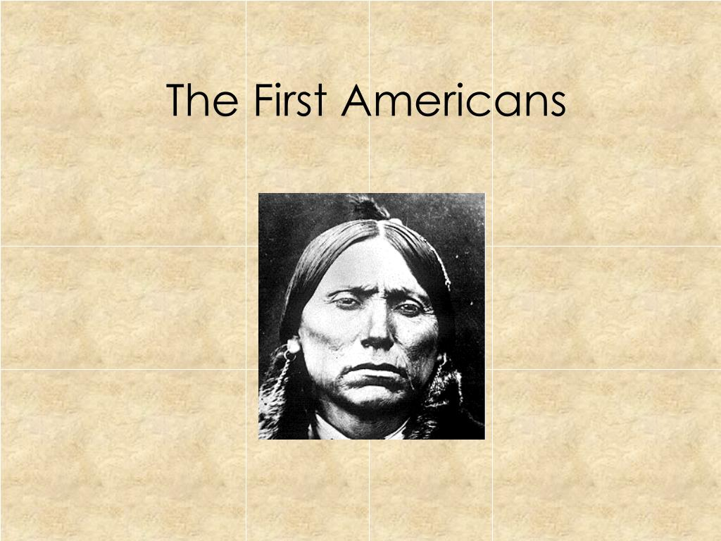 the first americans l.