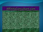 affinityconsultant com