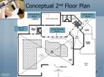 conceptual 2 nd floor plan