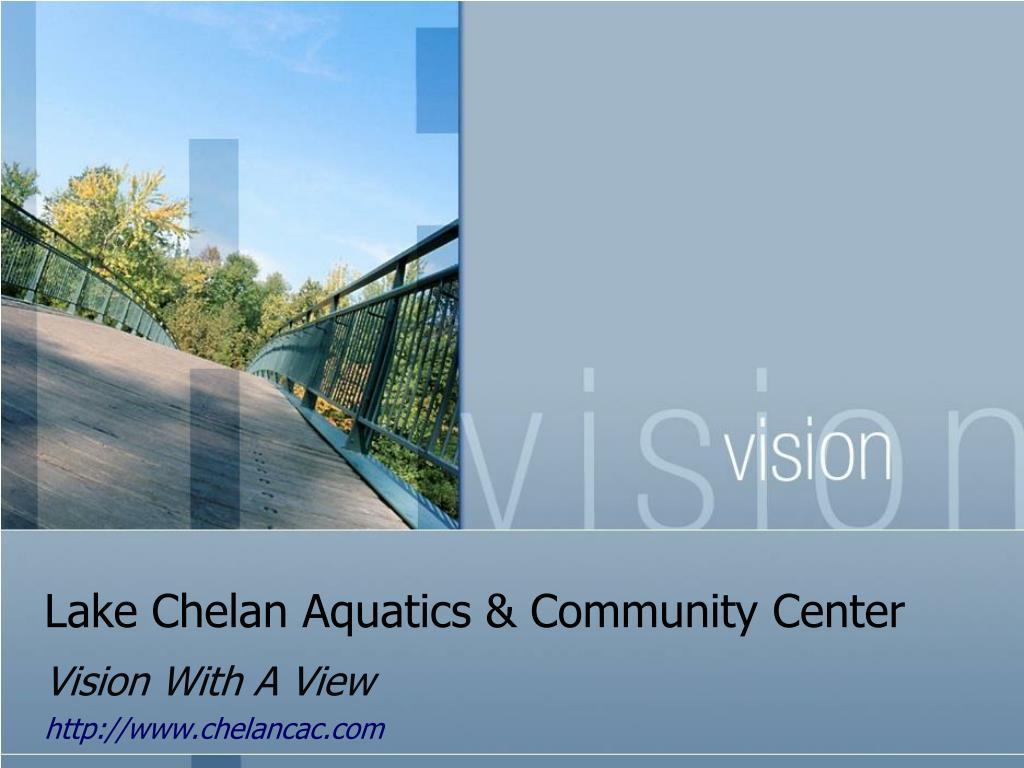 lake chelan aquatics community center l.