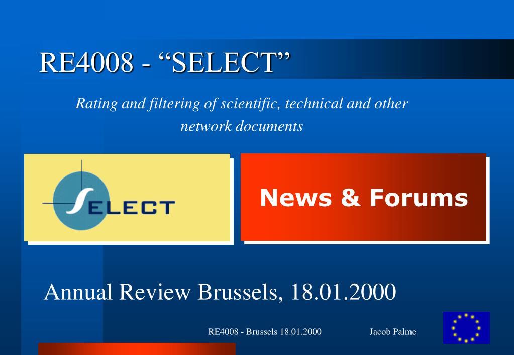 re4008 select l.