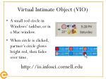 virtual intimate object vio