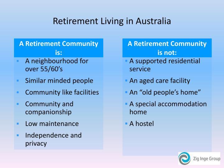 Retirement living in australia3