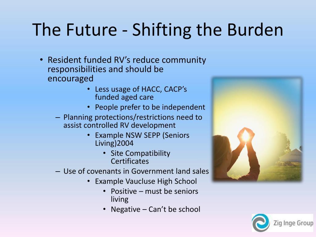 The Future - Shifting the Burden