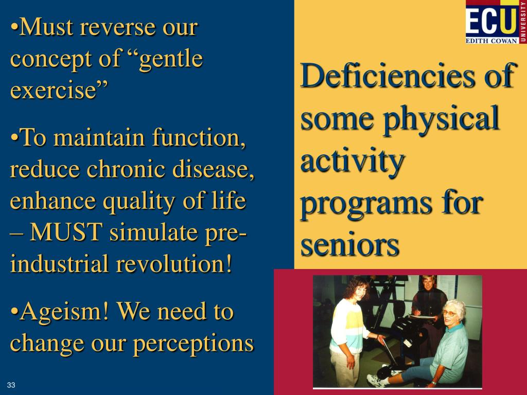 """Must reverse our concept of """"gentle exercise"""""""