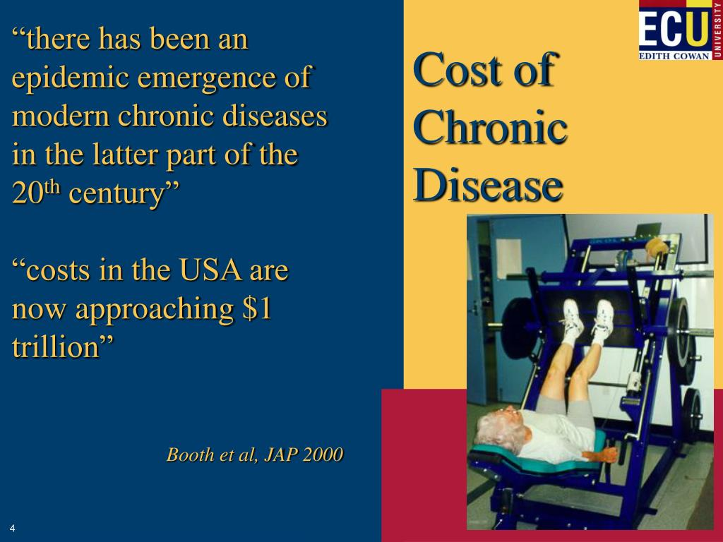 """""""there has been an epidemic emergence of modern chronic diseases in the latter part of the 20"""