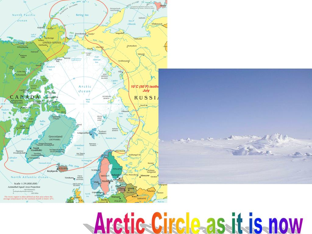 Arctic Circle as it is now