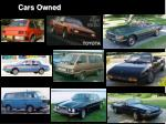 cars owned2