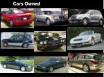 cars owned3