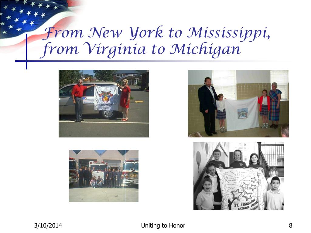From New York to Mississippi, from Virginia to Michigan