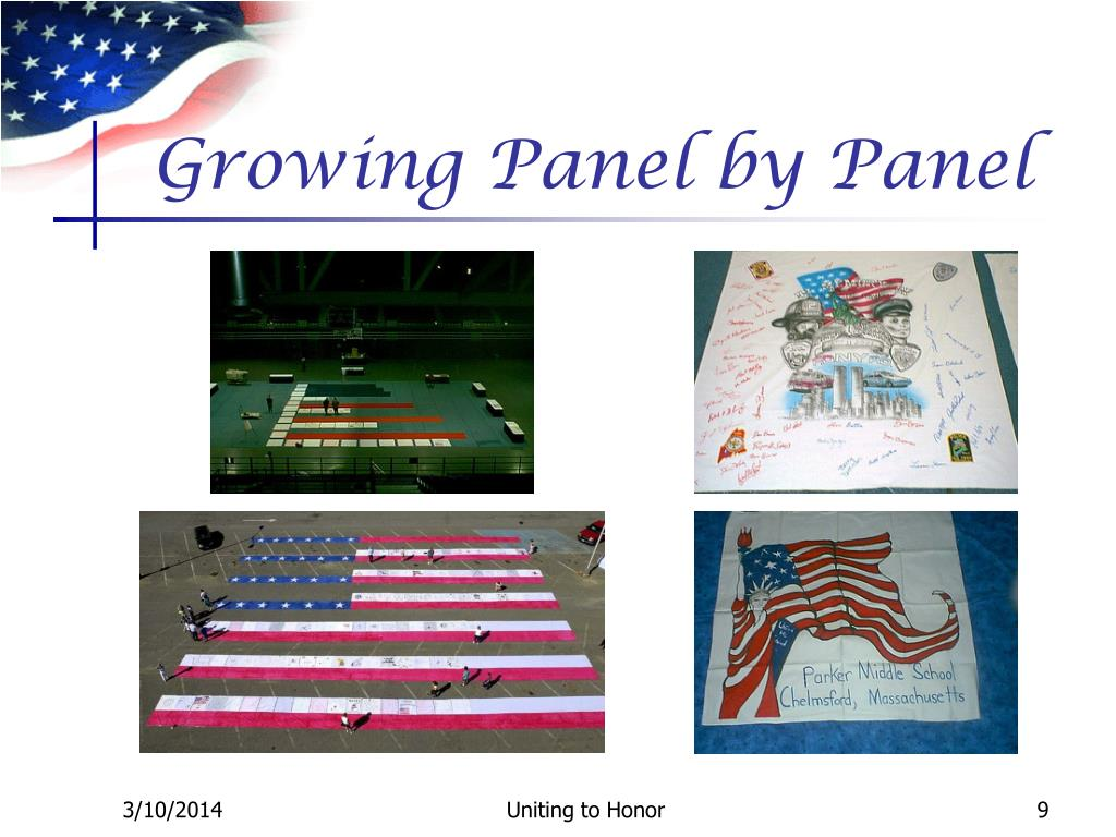 Growing Panel by Panel