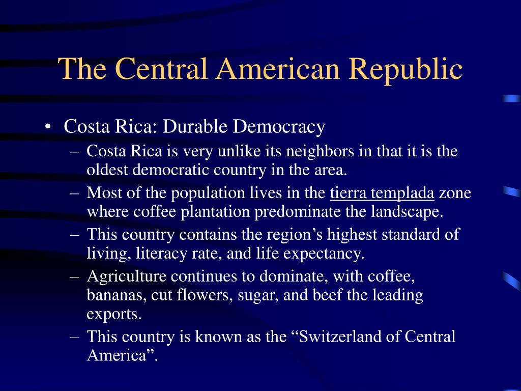 The Central American Republic