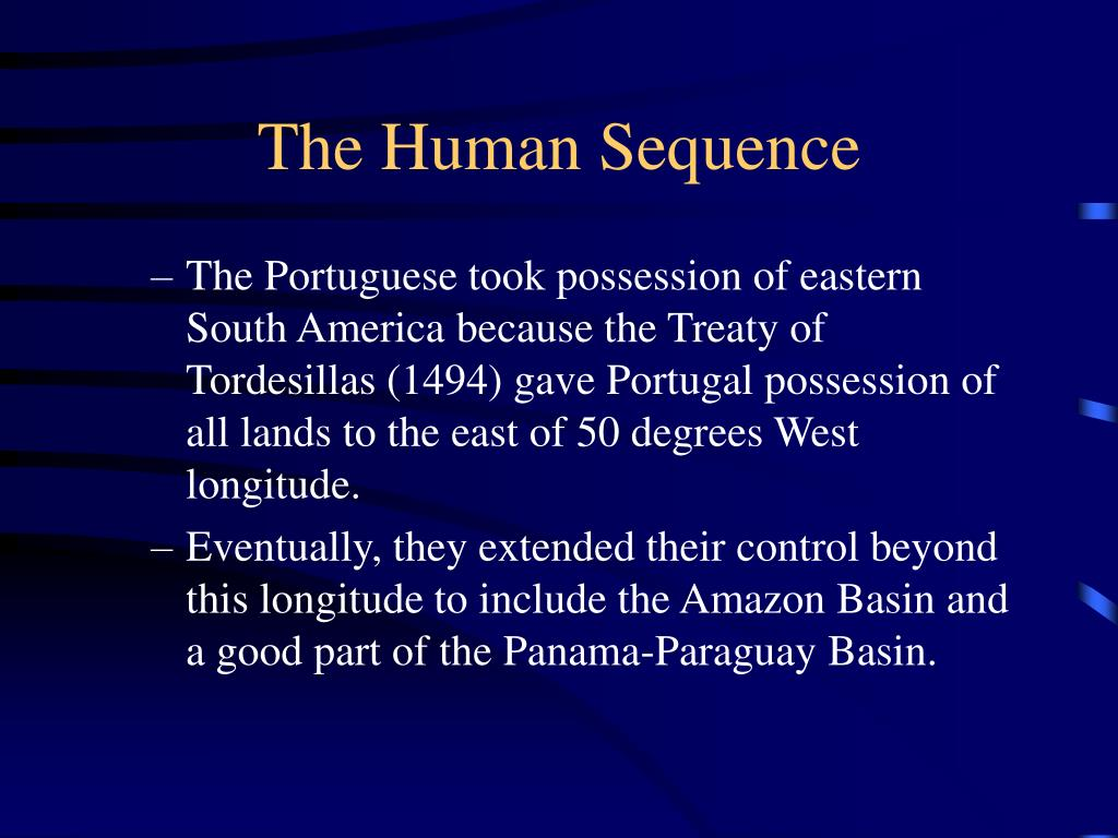 The Human Sequence