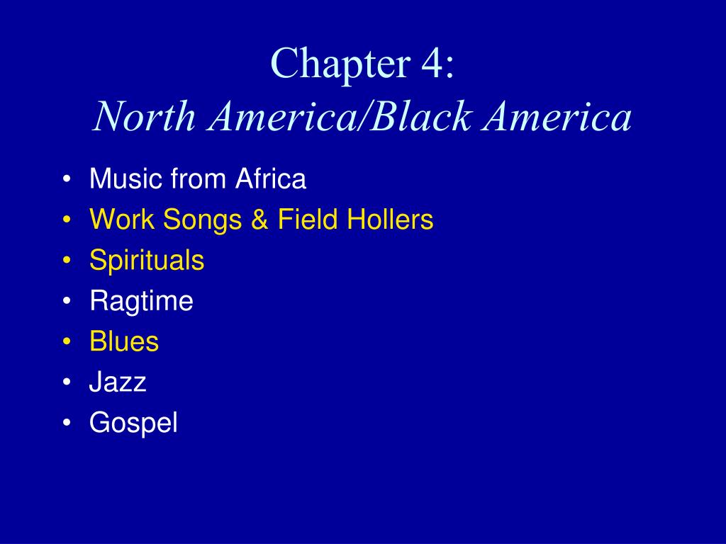 chapter 4 north america black america l.