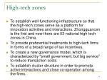 high tech zones