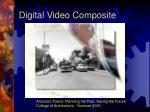 digital video composite