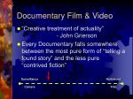 documentary film video