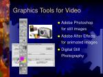 graphics tools for video
