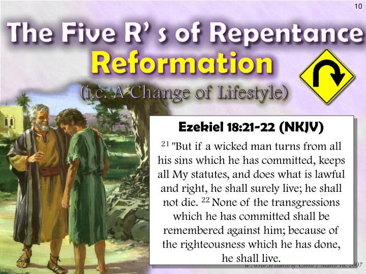 Ezekiel 18:21-22 (NKJV)