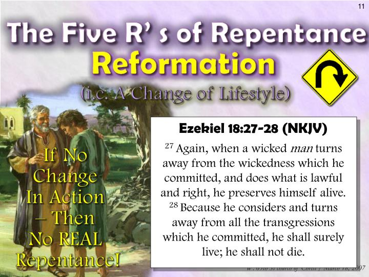 Ezekiel 18:27-28 (NKJV)