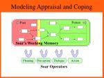modeling appraisal and coping