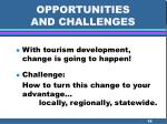 opportunities and challenges58