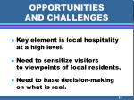 opportunities and challenges63