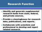 research function25