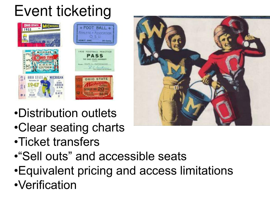 Event ticketing