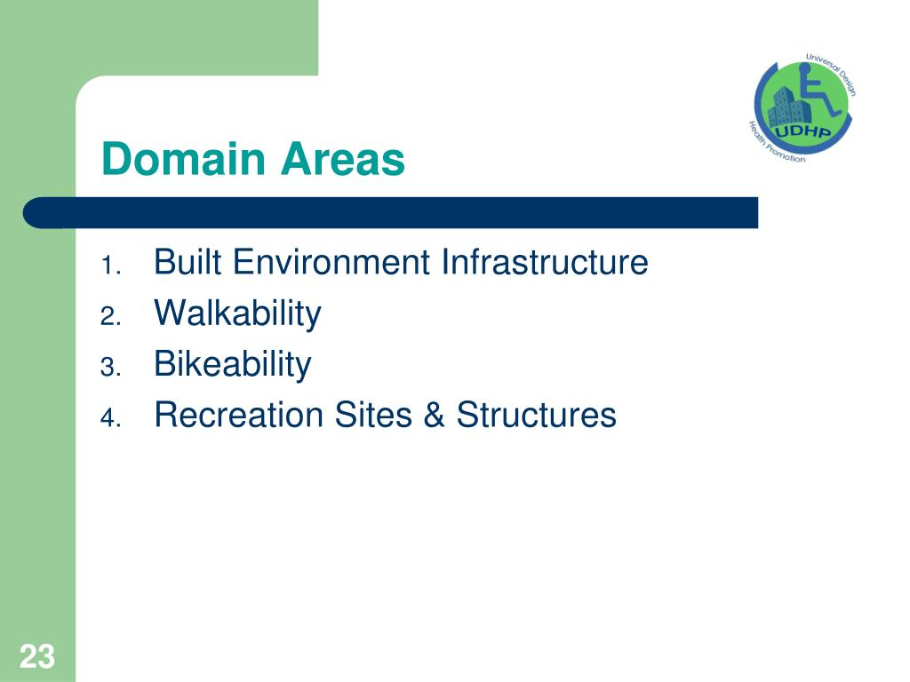 Domain Areas