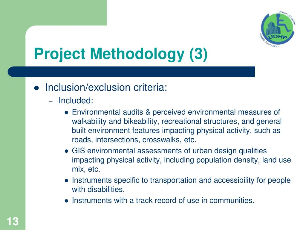 Project Methodology (3)