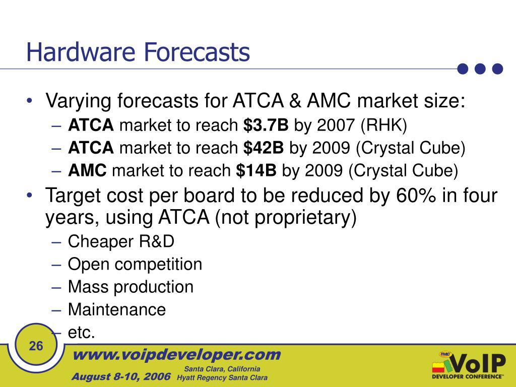 Hardware Forecasts