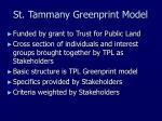 st tammany greenprint model