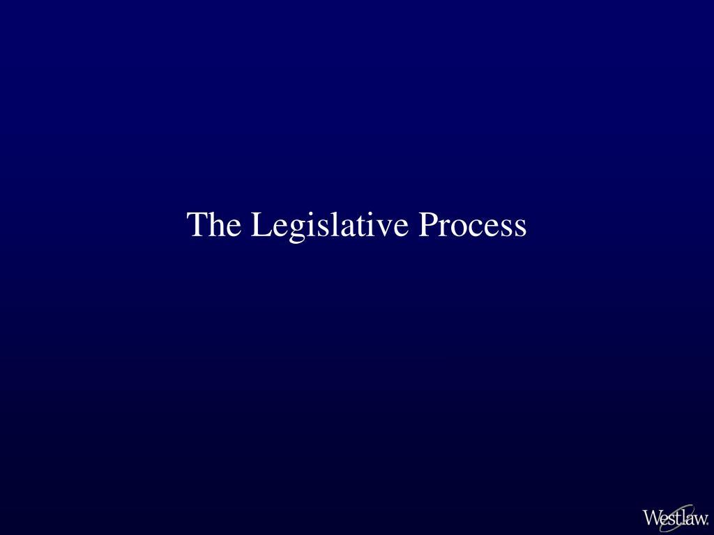 the legislative process l.