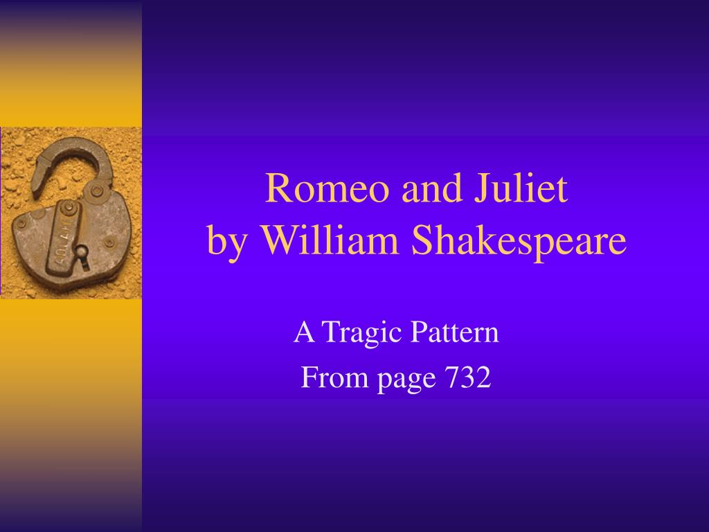romeo and juliet by william shakespeare l.