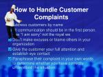 how to handle customer complaints4