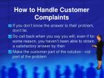 how to handle customer complaints5