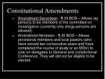 constitutional amendments18