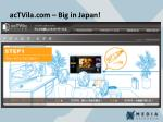 actvila com big in japan
